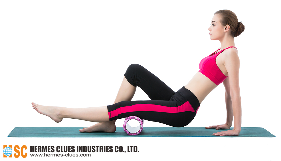 Instructions - Camouflage Hollow Foam Roller