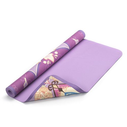 Portable Travel Yoga Mat / Towel ( Mandala pattern )