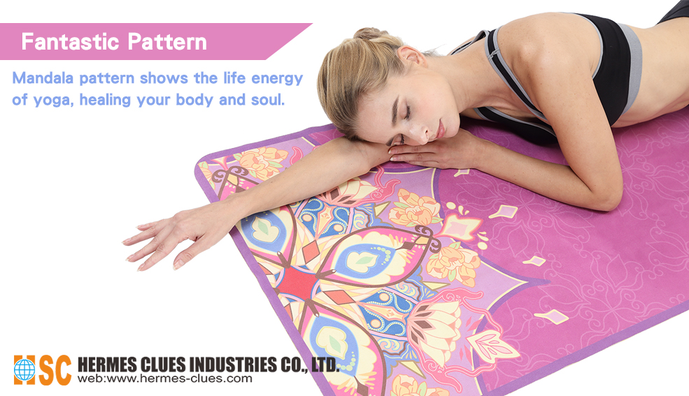 Instructions - Portable Travel Yoga Mat
