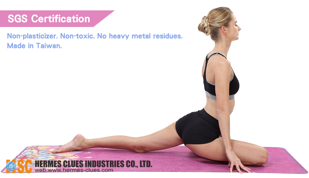 Instructions - Portable Travel Yoga Towel